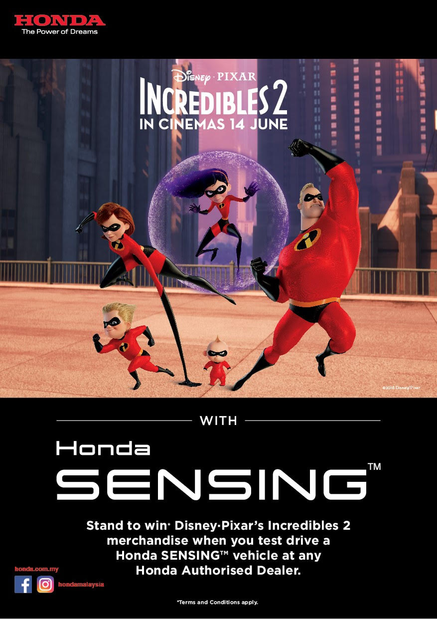 test drive with Honda Sensing