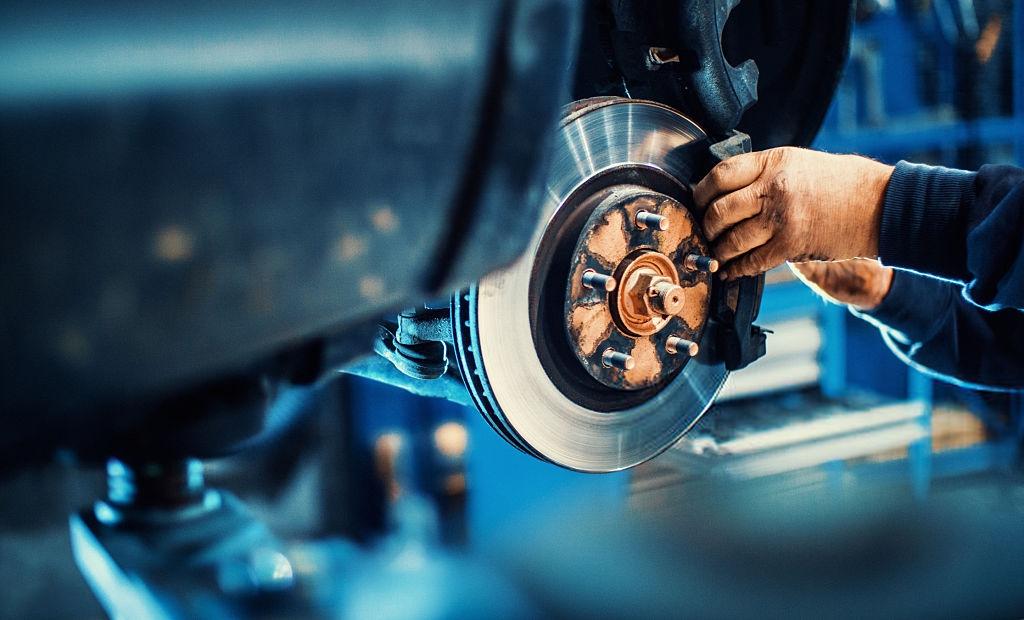disk brake maintainence